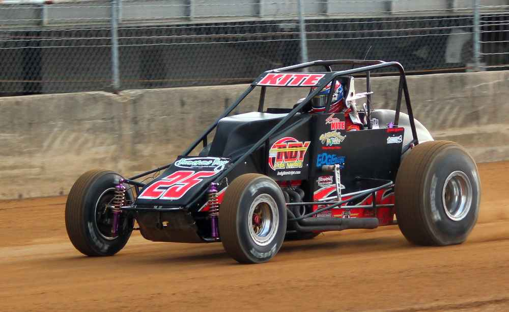 Jimmy Kite returned to Silver Crown this year