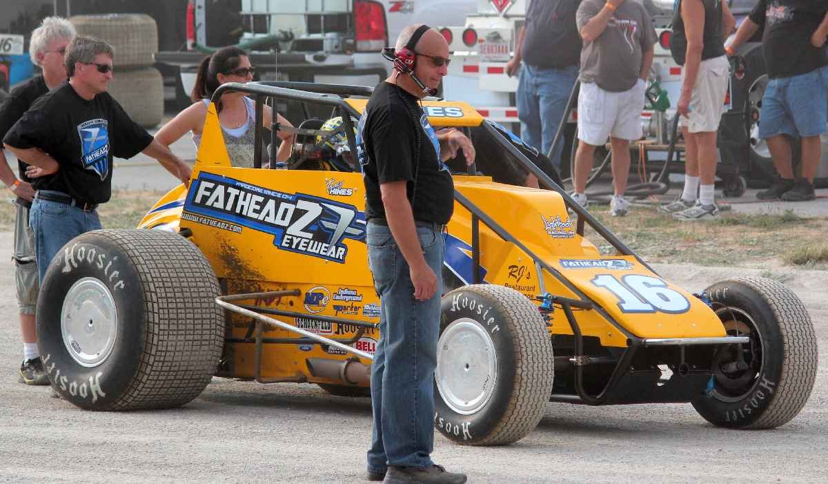 Tracy Hines readies for qualifying