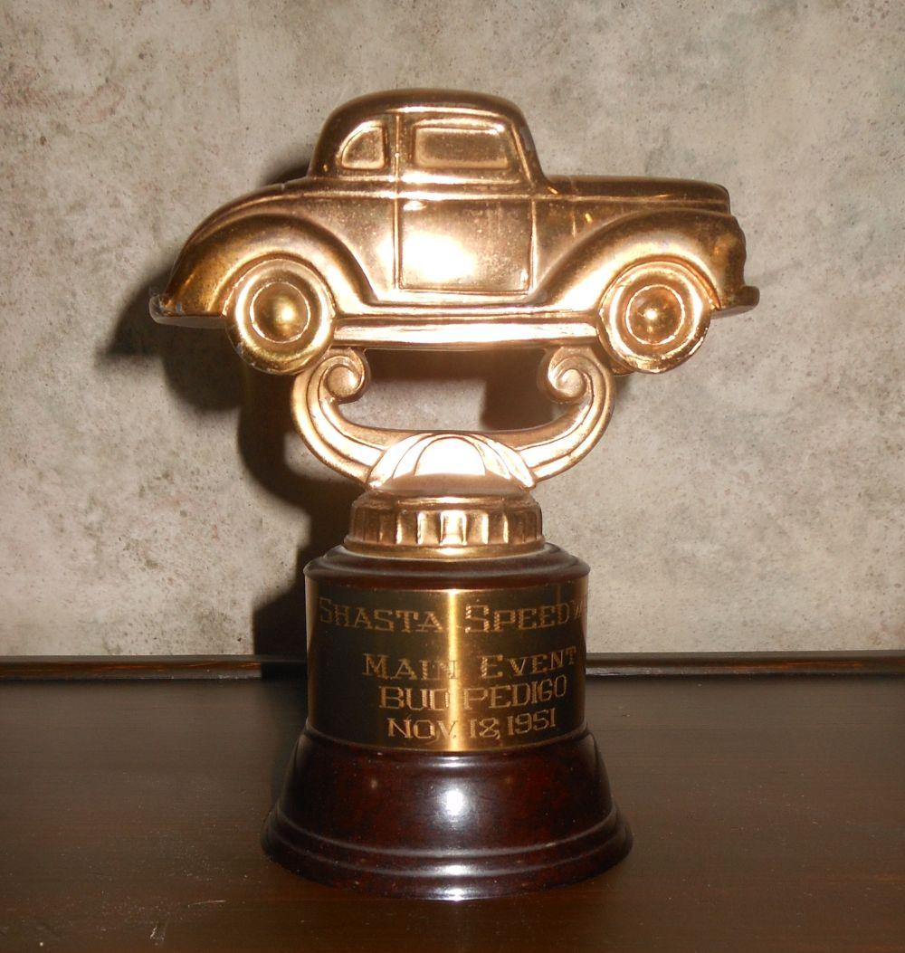 Main event trophy, Nov 18, 1951